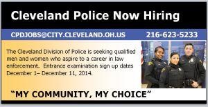 Recruitment poster for media