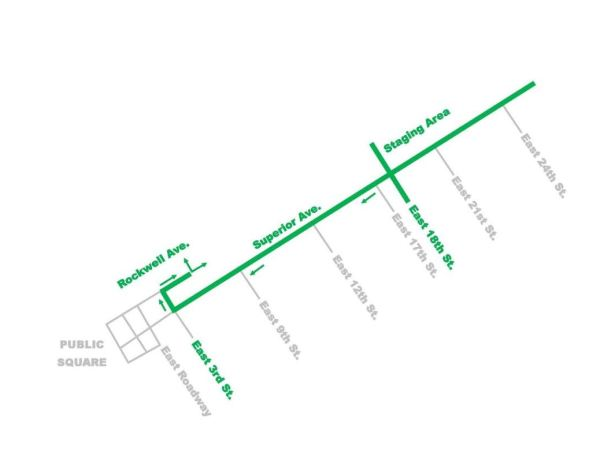 St. Pat's 2016 Parade Route
